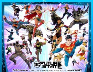 Novos e antigos heróis da DC se unem em ilustração do 'Future State'